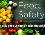 Giấy chứng nhận đủ điều kiện vệ sinh an toàn thực phẩm tại Hải Phòng