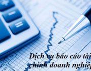 Dịch vụ báo cáo tài chính doanh nghiệp